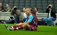 Photo: Richard Lane/Sportsbeat Images.<br />Milton Keynes Dons v West Ham United. Pre Season Friendly. 25/07/2007. <br />West Ham's Freddie Ljungberg.