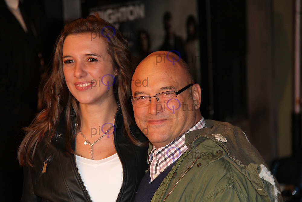 Gregg Wallace Brighton Rock European Premiere, Odeon West End Cinema, Leicester Square, London, UK, 01 February 2011: Contact: Ian@Piqtured.com +44(0)791 626 2580 (Picture by Richard Goldschmidt)