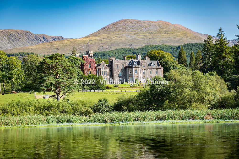 This is the Inverlochy Castle Hotel in Fort William, our second stop on the trip.  The photo was taken on the lake behind the property- you are looking at the rear of the building.