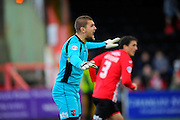 Exeter City's Robert Olejnik during the Sky Bet League 2 match between Exeter City and Dagenham and Redbridge at St James' Park, Exeter, England on 2 January 2016. Photo by Graham Hunt.