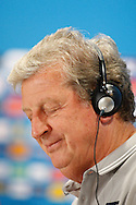 England manager Roy Hodgson during the England press conference the day before their final Group D match against Costa Rica at Mineirao, Belo Horizonte, Brazil. <br /> Picture by Andrew Tobin/Focus Images Ltd +44 7710 761829<br /> 23/06/2014
