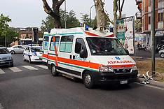 20120806 CICLISTA INVESTITO CORSO ISONZO ANGOLO VIA DARSENA