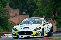 Abbie Eaton (GBR) / Marcus Hoggarth (GBR)  #60 Ebor GT  Maserati GranTurismo MC GT4  Maserati 4.7L V8 British GT Championship at Oulton Park, Little Budworth, Cheshire, United Kingdom. May 28 2016. World Copyright Peter Taylor/PSP.
