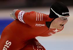 13-01-2013 SCHAATSEN: EK ALLROUND: HEERENVEEN<br /> NED, Speedskating EC Allround Thialf Heerenveen / 10000 men - Sverre Lunde Pedersen <br /> ©2013-FotoHoogendoorn.nl