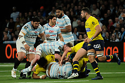 January 8, 2018 - Nanterre, Hauts de Seine, France - Racing Metro 92 Flanker SO OTALA FA ASO O in action during the French rugby championship Top 14 match between Racing Metro 92 and Clermont at U Arena Stadium in Nanterre - France.Racing won 58-6 (Credit Image: © Pierre Stevenin via ZUMA Wire)