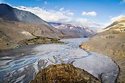 The Kali Gandaki River<br /> Kagbeni, Nepal