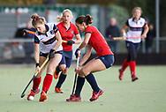 HUIZEN/NAARDEN - 2017 Hoofdklasse dames<br /> Huizer HC  vs Nijmegen 3-1<br /> Foto: Mascha Heemskerk.<br /> WORLDSPORTPICS COPYRIGHT FRANK UIJLENBROEK