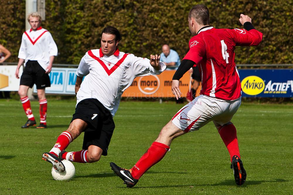 Groningen 20110925. GRC-Groninger Boys. Ivo Govaarts (GRC 7), Danny Harms (gb 10). foto: Pepijn van den Broeke. kilometers: 10