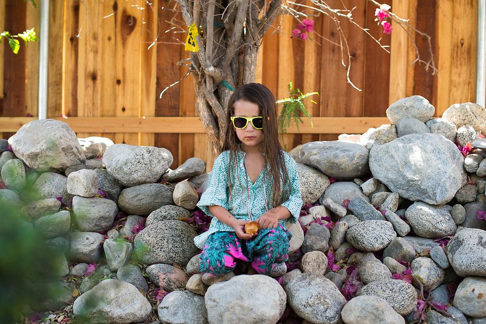 Mara Hoffman's Son at the CFDA Party Coachella 2015