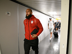 October 8, 2017 - Port Of Spain, Trinidad and Tobago - Port of Spain, Sunday, October 8, 2017: USMNT players arrive in Port of Spain for their World Cup Qualifying match with Trinidad and Tobago. (Credit Image: © John Todd/ISIPhotos via ZUMA Wire)