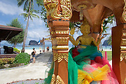 Thailand, Ko Hai. Kohhai Fantasy Resort & Spa. Spirit House.