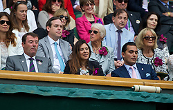 LONDON, ENGLAND - Saturday, July 5, 2014: Marion Bartoli in the royal box during the Ladies' Singles Final match on day twelve of the Wimbledon Lawn Tennis Championships at the All England Lawn Tennis and Croquet Club. (Pic by David Rawcliffe/Propaganda)