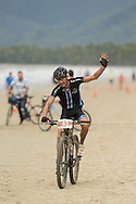 ADAM COBAIN Second Place 70km Challenge In A Time Of 02:55:50, June 1, 2014 - MOUNTAIN BIKE : RRR Mountain Bike Challenge, Cairns Airport Adventure Festival, Four Mile Beach, Port Douglas, Queensland, Australia. Credit: Lucas Wroe