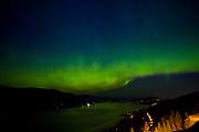 KELOWNA, CANADA - MAY 27:  The Aurora Borealis in Kelowna, British Columbia, Canada.  (Photo By Cindy Rogers/Nyasa Photography,  *** Local Caption ***