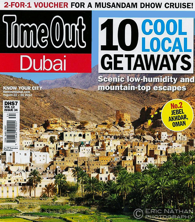 TimeOut Dubai Cover