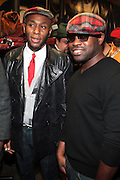 l to r:  MOS DEF and Black Thought(ROOTS) at The OkayPlayer Holiday Jammy Produced by Jill Newman Productions held at BB KINGS on Decemeber 16, 2009
