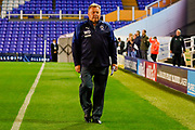 AFC Wimbledon Manager Wally Downes   during the EFL Sky Bet League 1 match between Coventry City and AFC Wimbledon at the Trillion Trophy Stadium, Birmingham, England on 17 September 2019.