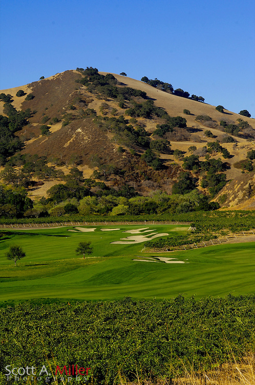 Oct. 9, 2006; Livermore, Cailf., USA: No. 5 (front) No. 4 (back) on The Course at Wente Vineyards in Livermore, Calif. ..©2006 Scott A. Miller