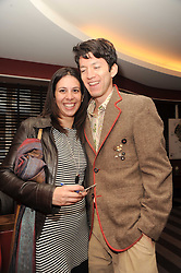 A party to promote the exclusive Puntacana Resort & Club - the Caribbean's Premier Golf & Beach Resort Destination, was held at The Groucho Club, 45 Dean Street London on 12th May 2010.<br /> <br /> Picture shows:-Left to right,  SHERRY SASSOON and ARAVINDA NEUMAN