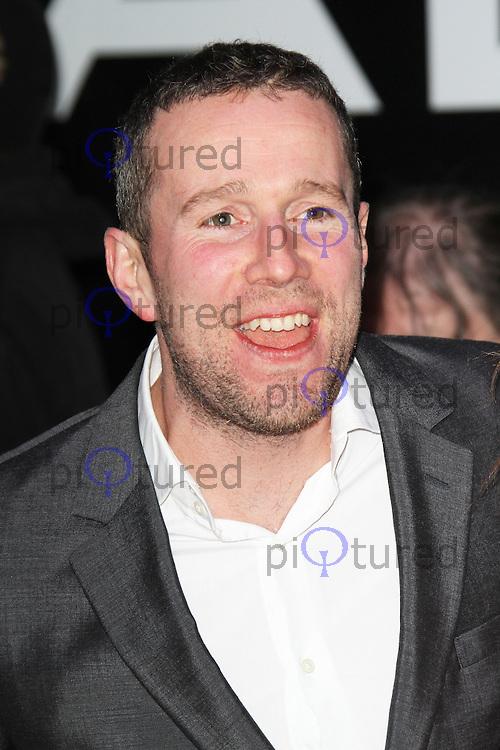 Max Rushden, Olympus Has Fallen European Film Premiere, BFI IMAX, London UK, 03 April 2013, (Photo by Richard Goldschmidt)