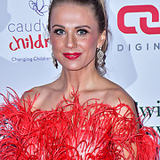 Modesta Vzesniauskaite arrive at Float Like A Butterfly Ball for Caudwell Children Charity at Grosvenor House Hotel on 16 November 2019, London, UK.