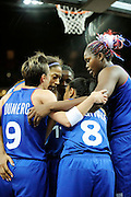 DESCRIZIONE : Basketball Jeux Olympiques Londres Demi finale<br /> GIOCATORE : Dumerc Celine Lawson Edwige Yacoubou Isabelle NDONGUE Emmeline<br /> SQUADRA : France  FEMME<br /> EVENTO : Jeux Olympiques<br /> GARA : France Russie<br /> DATA : 09 08 2012<br /> CATEGORIA : Basketball Jeux Olympiques<br /> SPORT : Basketball<br /> AUTORE : JF Molliere <br /> Galleria : France JEUX OLYMPIQUES 2012 Action<br /> Fotonotizia : Jeux Olympiques Londres demi Finale Greenwich Northwest Arena<br /> Predefinita :