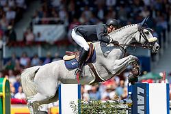 VAN ASTEN Leopold(NED), VDL Groep Beauty<br /> Aachen - CHIO 2018<br /> Rolex Grand Prix 1. Umlauf<br /> Der Grosse Preis von Aachen<br /> 22. Juli 2018<br /> © www.sportfotos-lafrentz.de/Stefan Lafrentz
