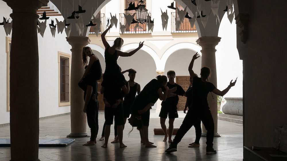 I lucked out by randomly witnessing a dance rehearsal in Cordoba, Spain.