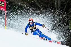 "Federica Brignone (ITA) competes during 1st Run of the FIS Alpine Ski World Cup 2017/18 5th Ladies' Giant Slalom race named ""Golden Fox 2018"", on January 6, 2018 in Podkoren, Kranjska Gora, Slovenia. Photo by Ziga Zupan / Sportida"