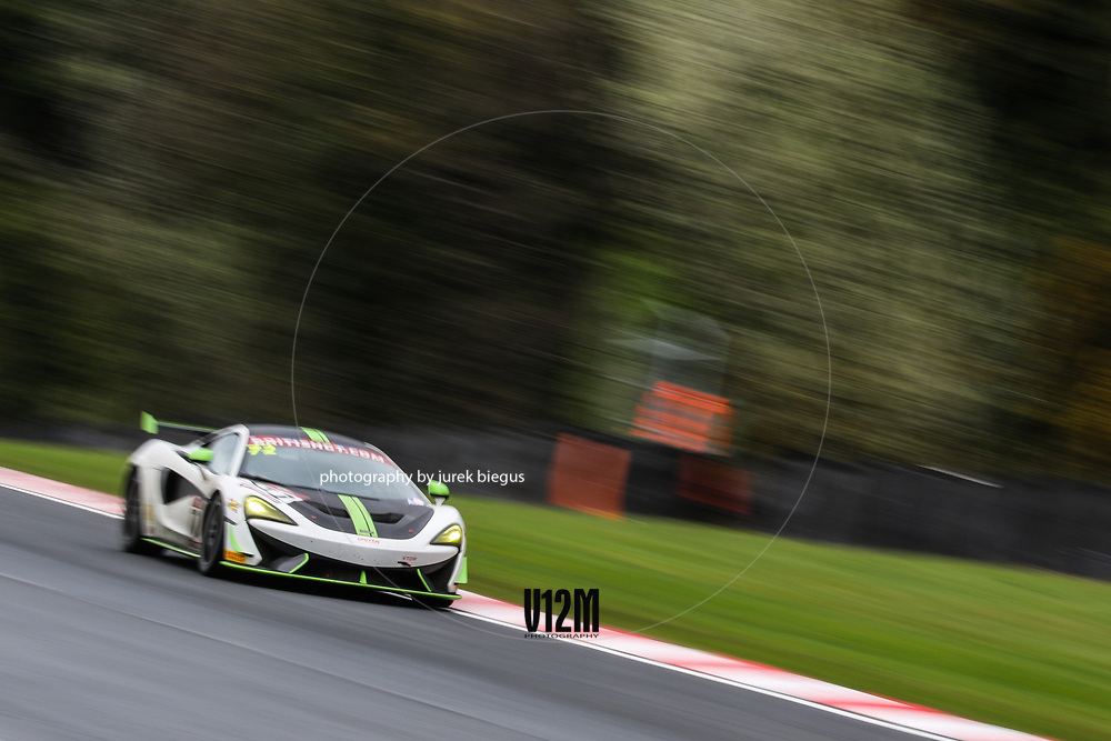 Track Club | McLaren 570S GT4 | Adam Balon | Adam Mackay | British GT Championship | Oulton Park | 17 April 2017 | Photo: Jurek Biegus