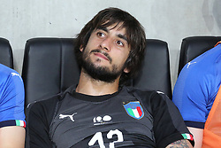 June 1, 2018 - Paris, Ile-de-France, France - Mattia Perin (Italy) before the friendly football match between France and Italy at Allianz Riviera stadium on June 01, 2018 in Nice, France..France won 3-1 over Italy. (Credit Image: © Massimiliano Ferraro/NurPhoto via ZUMA Press)