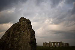 © licensed to London News Pictures. Stonehenge, UK  01/05/11...One of the biggest events of the Celtic calendar was marked today with a small ceremony at the ancient stone circle at Stonehenge in Wiltshire today...The festival of Beltane or 'Bright Fire' marks the coming of Summer and the beginning of the most fertile time of the year. Known widely as MayDay, the ceremony surrounding this event in the Celtic calendar marks a time of partnerships and signifies the beginning of the 'lighted half' of the year....Please see special instructions for usage rates. Photo credit should read Ian Forsyth/LNP