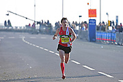 Chris Thompson 2015 Great Birmingham Run winner leads and wins during The Great South Run in Southsea, Portsmouth, United Kingdom on 23 October 2016. Photo by Jon Bromley.