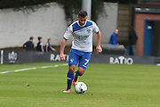 Bury Midfielder, Zeli Ismail (7) during the EFL Sky Bet League 1 match between Bury and Scunthorpe United at the JD Stadium, Bury, England on 1 October 2016. Photo by Mark Pollitt.