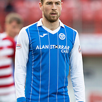 Hamilton Accies v St Johnstone…08.05.18…  New Douglas Park    SPFL<br />David Wotherspoon<br />Picture by Graeme Hart. <br />Copyright Perthshire Picture Agency<br />Tel: 01738 623350  Mobile: 07990 594431