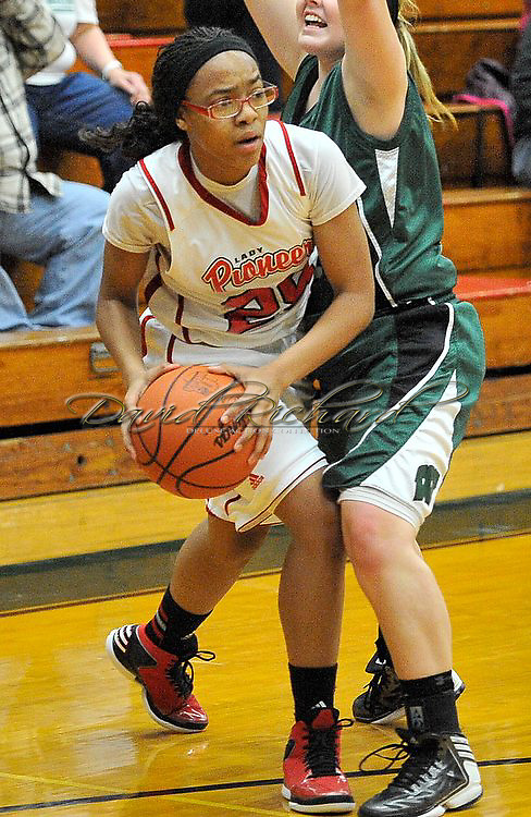 Westlake vs Elyria girls basketball on February 20, 2013. Images © David Richard and may not be copied, posted, published or printed without permission.