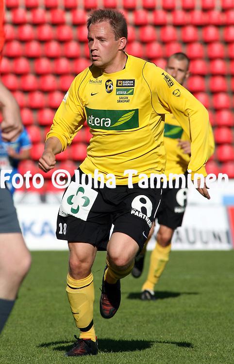 26.06.2008, Ratina, Tampere, Finland..Veikkausliiga 2008 - Finnish League 2008.Tampere United - Kuopion Palloseura.Olli Kosonen - KuPS.©Juha Tamminen.....ARK:k