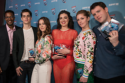 RICK YOUNGER, KYLE SELIG, ERIKA HENNINGSEN, BARRETT WILBERT WEED, TAYLOR LOUDERMAN, GREY HENSON on the Red Carpet