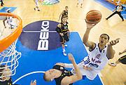 DESCRIZIONE : Lubiana Ljubliana Slovenia Eurobasket Men 2013 Preliminary Round Germania Gran Bretagna Germany Great Britain<br /> GIOCATORE : Miles Hesson<br /> CATEGORIA : tiro shot special<br /> SQUADRA : Gran Bretagna Great Britain<br /> EVENTO : Eurobasket Men 2013<br /> GARA : Germania Gran Bretagna Germany Great Britain<br /> DATA : 08/09/2013 <br /> SPORT : Pallacanestro <br /> AUTORE : Agenzia Ciamillo-Castoria/T.Wiedensohler<br /> Galleria : Eurobasket Men 2013<br /> Fotonotizia : Lubiana Ljubliana Slovenia Eurobasket Men 2013 Preliminary Round Germania Gran Bretagna Germany Great Britain<br /> Predefinita :