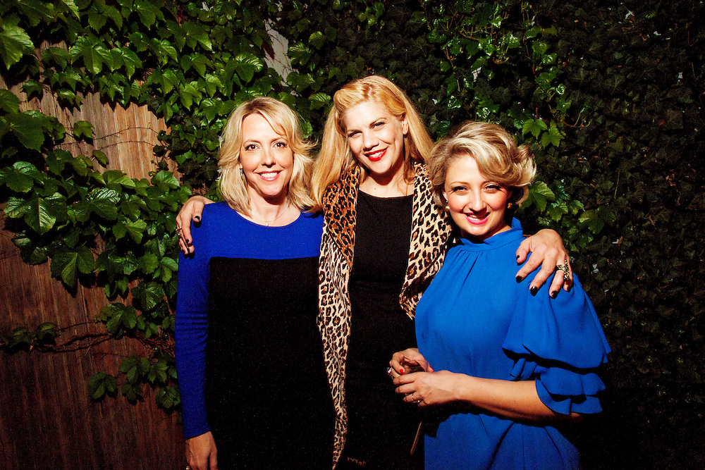 Kambri Crews, Kristen Johnston, Glennis McCarthy - G.L.O.C. [Gorgeous Ladies of Comedy] Re-Launch Party - Littlefield - Brroklyn, New York - May 2, 2012