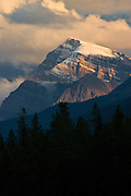 Sunset view of Storm Mountain in Banff / Kootenay National Parks.2048x3072 (original size)