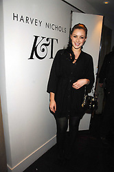 CAMILLA AL FAYED at a party to celebrate the launch of the Kova & T fashion label and to re-launch the Harvey Nichols Fifth Floor Bar, held at harvey Nichols, Knightsbridge, London on 22nd November 2007.<br /><br />NON EXCLUSIVE - WORLD RIGHTS