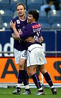Fotball - Østerrike 2003<br /> 22.04.2003<br /> Sturm Graz v Austria Wien <br /> Sigurd Rushfeldt - Austria Wien<br /> Foto: Michael Kop, Digitalsport
