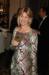 Writer KATE MOSSE at the Galaxy British Book Awards 2007 - The Nibbies held at the Grosvenor house Hotel, Park Lane, London on 28th March 2007.<br />