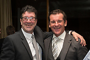 09/02/2017 - Cammy Fraser and Tosh McKinlay at Dundee FC Hall of fame dinner at the Invercarse Hotel, Dundee  Picture by David Young -