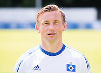 German Soccer Bundesliga 2015/16 - Photocall of Hamburger SV on 15 July 2015 in Hamburg, Germany: Ivica Olic
