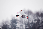 PYEONGCHANG-GUN, SOUTH KOREA - FEBRUARY 14: Shaun White of USA during the Mens Snowboard Halfpipe competition at Phoenix Snow Park on February 14, 2018 in Pyeongchang-gun, South Korea. Photo by Nils Petter Nilsson/Ombrello               ***BETALBILD***