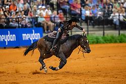 SCHUMACHER Julia (GER), Couers little Tyke<br /> Tryon - FEI World Equestrian Games™ 2018<br /> Reining Finale Einzelentscheidung<br /> September 2018<br /> © www.sportfotos-lafrentz.de/Stefan Lafrentz
