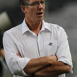 DURBAN, SOUTH AFRICA - AUGUST 04: Gary Teichmann (Chief executive officer) of the Cell C Sharks during the Currie Cup match between Cell C Sharks and Tafel Lager Griquas at Growthpoint Kings Park on August 04, 2017 in Durban, South Africa. (Photo by Steve Haag/Gallo Images)