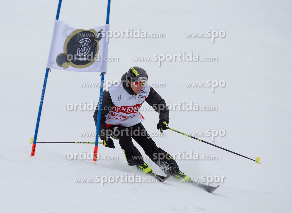 26.01.2015, Planai, Schladming, AUT, FIS Skiweltcup Alpin, Schladming, Sporthilfe Charity Promi Race, im Bild Christian Hoffmann // Christian Hoffmann during the Sporthilfe Charity VIP race at the Planai Course in Schladming, Austria on 2015/01/26, EXPA Pictures © 2015, PhotoCredit: EXPA/ Erwin Scheriau
